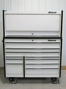 Snap On White Black Trim Ktl1022 Tool Box Armor Edge Work Top Hutch