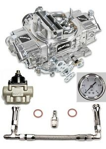 Quick Fuel 650 Cfm Br 67255 Carburetor Electric Choke Fuel Line Regulator Kit