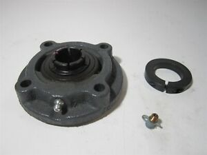 Sealmaster mfc 16t 1 Bore Cast Iron Housing 4 bolt Flange Mount Ball Bearing