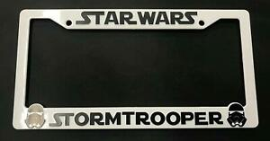 Star Wars Storm Troopers License Plate Holder Frame For Tundra Tacoma 4 Runner