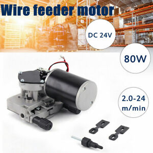 Mig Mag Welding Machine Wire Feed Welder Motor 76zy Dc24v 0 8 1 0mm Weld Parts