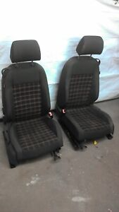 2005 2009 Vw Volkswagen Gti Front Seats Set Tartan Plaid Golf Jetta Driver Mk5