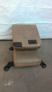 1999 2004 2005 2010 F250 F350 Super Duty Front Center Jump Seat Tan Leather