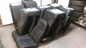 15 Custom Black Leather Mercedes Sprinter Van Bus Seats Freedman Seating Company