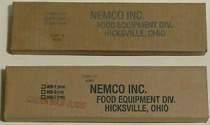 Nemco 466 1 Easy Tomato Slicer 3 16 Replacement Blade Assembly New Set Of 2