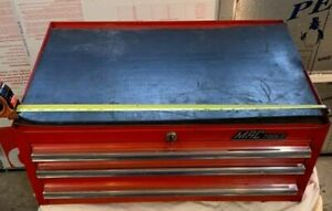 Outstanding Mac Tools Riser Middle Transition Tool Box With 3 Drawers red