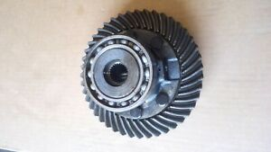 Yanmar 1700 Tractor Ring Gear Differentail Assembly