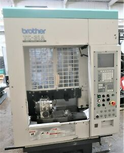 Brother Model Tc 31a High Sppeed Cnc Drill tap With 4th Axis