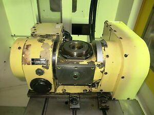 Nikken 5ax 130 Wa21 Compact Tilting Rotary Table 4th 5th Axis Ship Worldwide