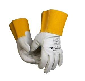 new 6 pack Tillman Large Top Grain Cowhide Tig mig Welding Gloves 1350l