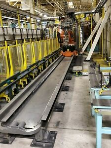 Kuka Kl 1500 3 Robot 15 Meter 7th Axis Linear Rail Complete With Cables
