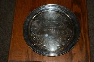 International Silver Company Concord Serving Platter Tray 6470 10 Cotillion