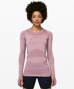 Lululemon Swiftly Tech Long Sleeve Crew Full Color Full Size New With Tags