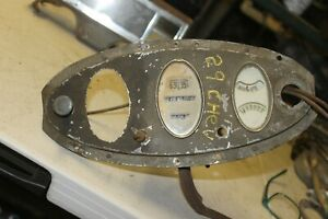 1928 1929 Chevy Instrument Cluster Rare Nice Br