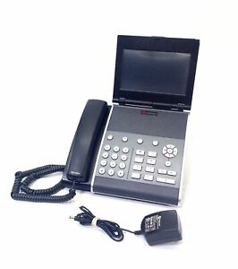 Polycom Vvx 1500 Voip Business Media Conference Phone W Adapter free Shipping