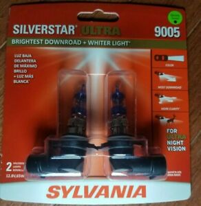 Sylvania Silverstar Ultra 9005 Halogen Dual Pack Brand New Sealed Light It Up