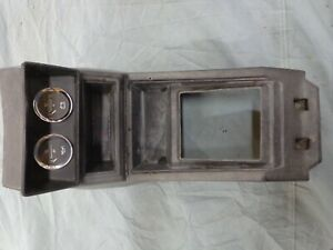 1980 86 Datsun Nissan 720 Pickup King Cab 4x4 Center Shift Console With Gauges