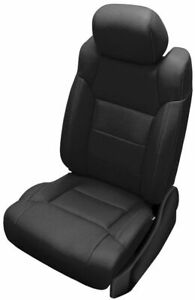 New Toyota Tundra Crewmax Katzkin Leather Seat Replacement Covers Black Bench