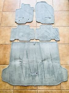 Toyota 2006 2012 Rav4 Ash Gray Floor Mats Full 5 Pc Set With Rear Pt208 42051