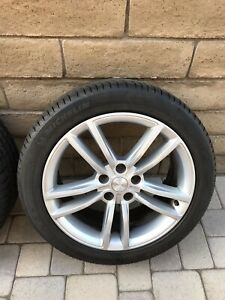 Tesla Model S 19 Inch Wheels With Michelin Tires