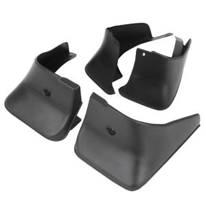 Black Car Mud Flaps Mudguards Fenders Splash Guards Fit For 04 06 Toyota Corolla