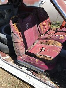 Dodge Dart 1964 Original Front Bucket Seats 63 64 65 66 A Body Ply Valiant