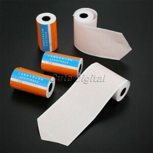 5 Rolls Thermal Print Paper For Ecg300g Ecg Machine Electrocardiograph 80mm 20m