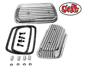 Vw Scat Bolt On Aluminum Valve Covers W Gasket Retainers Bug From Radke Serv