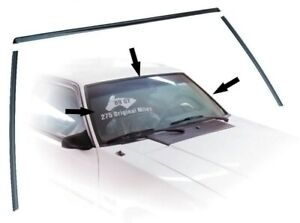 1979 1993 Ford Mustang Windshield Molding Kit