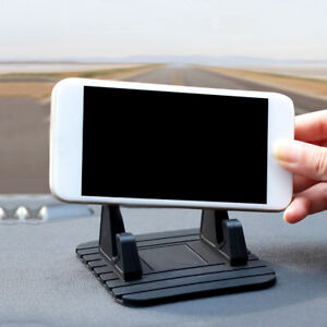 Car Dashboard Non Slip Mat Rubber Mount Holder Pad Mobile Phone Stand 11 9 4cm