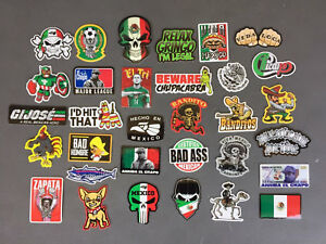 MEXICAN Hard Hat Stickers 30+ MEXICO HardHat Sticker & Decals  Helmet  Tool Box
