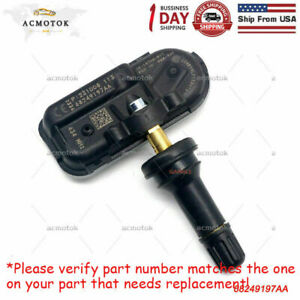 For 2014 18 Dodge Ram 1500 2500 3500 Tire Pressure Sensor Tpms Oem 68249197aa