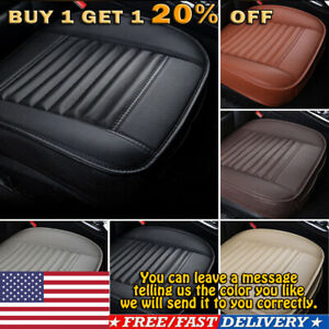 Pu Leather Car Rear Back Row Seat Cover Cushion Protector Non slip Pad Mat