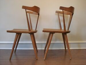 Vintage 2 Danish Modern Paul Mccobb Arm Chairs For Planner Group