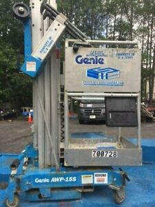 2000 Genie One Man Vertical Mast Lift