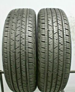 Two Used 235 65r18 2356518 Continental Cross Contact Lx Sport 10 32 2a303