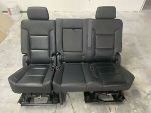 2007 2019 Tahoe Escalade Yukon Denali Second 2nd Row Bench Seat Leather