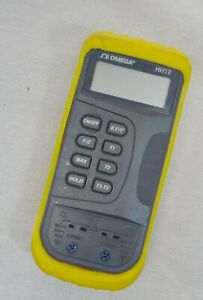 Omega Hh 12 Digital Thermometer