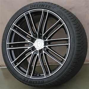 22 5x130 Turbo Style Wheels Tires Pkg Porsche Cayenne Cayenne Turbo S Gts