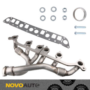 Exhaust Manifold Kit Fit Jeep Cherokee Wrangler Grand Cherokee 4 0l L6