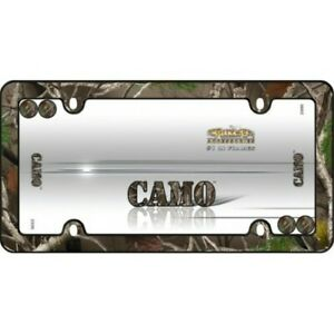 Camouflage Plastic License Plate Frame Ca23095