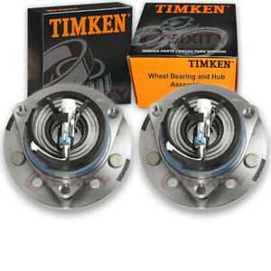 Timken Front Wheel Bearing Hub Assembly For 1999 2004 Oldsmobile Alero Sd