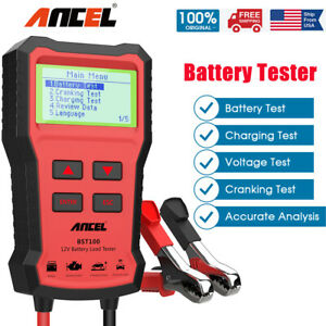 Foxwell Bt100 Pro 12v Auto Battery Tester Flooded Agm Gel Battery Analyzer