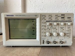 Tektronix Tds 210 Two channel Digital Real time Oscilloscope 60mhz 1gs s