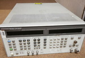 Hp High Preformance Synthesized Signal Generator Gray Beige 8643a