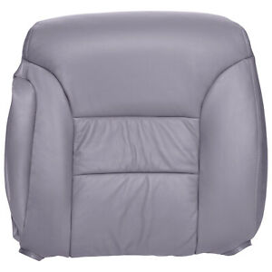 1995 Chevy gmc Truck And Suv Driver Top Leather Seat Cover In Medium Gray