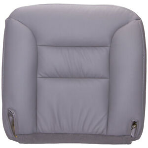 1995 Chevy Gmc Truck And Suv Driver Bottom Leather Seat Cover Medium Gray