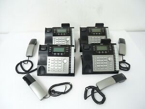 Lot Of 4 Rca Visya Business 4 Line Phone With Caller Id 2542re1 Good Deal