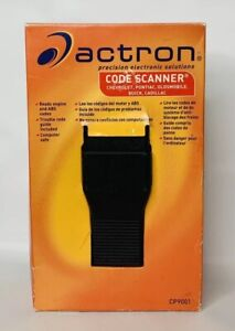 Actron Cp9001 Code Scanner Chevrolet Pontiac Oldsmobile Buick Cadillac Saturn