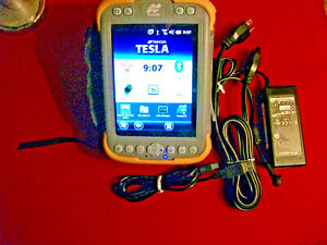 Topcon Tesla Gps data field Controller Tablet W Pocket 3d Trimble Sokkia R8 R10